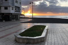 Zachod-slonca-w-Las-Galletas-Spain